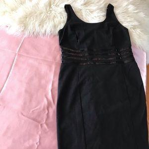 Michael Kors structure black dress